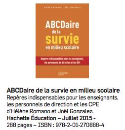 ABCDaire de la survie en milieu scolaire