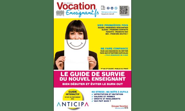 Le Guide du nouvel enseignant 2019-2020 à télécharger gratuitement